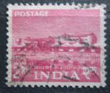 Poštovní známka Indie 1955 Továrna na zpracování hliníku Mi# 253