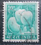 Poštovní známka Indie 1965 Mango Mi# 395
