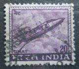 Poštovní známka Indie 1967 Tryskový stíhač Mi# 436 X