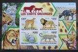 Poštovní známky Burundi 2011 Kočkovité šelmy neperf., vzácné Mi# Block 157 B