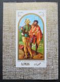 Poštovní známka Adžmán 1968 Umění, Albrecht Dürer Mi# Block 24