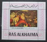 Poštovní známka Rás al-Chajma 1970 Vánoce, Umění, Tizian Mi# Block 78 A Kat 7.50€