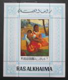 Poštovní známka Rás al-Chajma 1970 Umění, Paul Gauguin Mi# Block 82 A Kat 6.50€