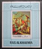 Poštovní známka Rás al-Chajma 1970 Umění, velikonoce Mi# Block 80 A Kat 10€