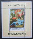 Poštovní známka Rás al-Chajma 1970 Umění, Champaigne Mi# Block 83 A Kat 6.50€