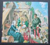 Poštovní známka Umm al-Kuvajn 1972 Umění, Albrecht Dürer Mi# Block 35 A