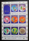 Poštovní známky Umm al-Kuvajn 1972 Apollo 11-17 Mi# 922-29 Bogen Kat 12€
