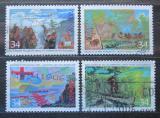 Poštovní známky Kanada 1987 Průzkum Kanady Mi# 1023-26