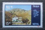 Poštovní známka Nepál 1986 Vodní elektrárna Mi# 470