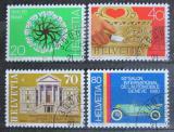 Poštovní známky Švýcarsko 1980 Výročí a události Mi# 1170-73