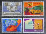 Poštovní známky Švýcarsko 1980 Výročí a události Mi# 1180-83