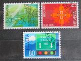 Poštovní známky Švýcarsko 1980 Výročí a události Mi# 1184-86
