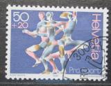 Poštovní známka Švýcarsko 1986 Dynamika a pohyb Mi# 1313
