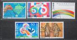 Poštovní známky Švýcarsko 1989 Výročí a události Mi# 1397-01