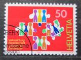 Poštovní známka Švýcarsko 1990 Sčítání lidu Mi# 1435