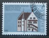 Poštovní známka Švýcarsko 1981 Stará radnice, Stans Mi# 1205