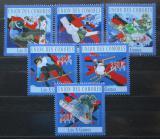 Poštovní známky Komory 2010 Zimní hry Mi# 2754-59 Kat 10€