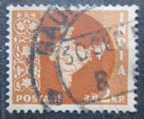 Poštovní známka Indie 1958 Mapa Indie Mi# 287