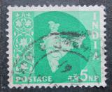 Poštovní známka Indie 1957 Mapa Indie Mi# 262