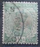 Poštovní známka Indie 1926 Král Jiří V. Mi# 101