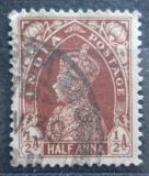 Poštovní známka Indie 1937 Král Jiří VI. Mi# 147