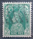 Poštovní známka Indie 1937 Král Jiří VI. Mi# 148