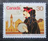 Poštovní známka Kanada 1982 Armáda spásy Mi# 834