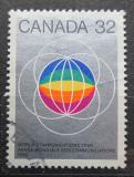 Poštovní známka Kanada 1983 Mezinárodní rok komunikace Mi# 866