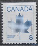 Poštovní známka Kanada 1983 Javorový list Mi# 863 D