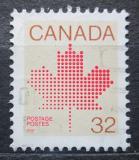 Poštovní známka Kanada 1983 Javorový list Mi# 865 A