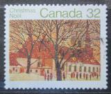 Poštovní známka Kanada 1983 Vánoce, kostel Mi# 898