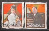 Poštovní známky Kanada 1980 Hudebníci Mi# 771-72
