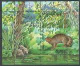 Poštovní známka Moldavsko 2006 Divoká kočka Mi# Block 36