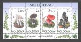 Moldavsko 2010 Houby Mi# Block 49
