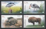 Poštovní známky Moldavsko 2018 Fauna Mi# 1037-40