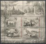 Poštovní známky Moldavsko 2010 Prehistorická fauna Mi# Block 51 Kat 11€