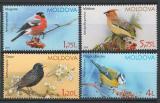 Poštovní známky Moldavsko 2015 Ptáci Mi# 923-26
