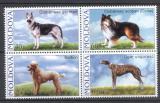 Poštovní známky Moldavsko 20006 Psi Mi# 565-68