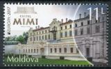 Poštovní známka Moldavsko 2017 Evropa CEPT, zámek Mimi Mi# 1000 Kat 6€