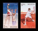 Poštovní známky Moldavsko 2017 Sport Mi# 1015-16 Kat 6€