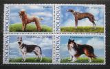 Poštovní známky Moldavsko 2006 Psi Mi# 565-68