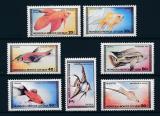 Poštovní známky Mongolsko 1987 Ryby Mi# 1836-42