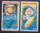 Poštovní známky Wallis a Futuna 1981 Kosmonauti Gagarin a Shepard Mi# 386-87