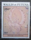Poštovní známka Wallis a Futuna 1984 Umění, Jean Cocteau Mi# 470