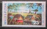 Poštovní známka Wallis a Futuna 1989 Umění, vesnice Mi# 572