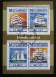 Poštovní známky Mosambik 2015 Plachetnice Mi# 8044-47 Kat 15€