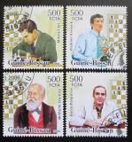Poštovní známky Guinea-Bissau 2006 Šachisti Mi# 3450-53