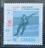Poštovní známka Kanada 1987 ZOH Calgary, rychlobruslení Mi# 1031