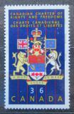 Poštovní známka Kanada 1987 Znaky a vlajky Mi# 1034