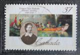 Poštovní známka Kanada 1988 Frances Ann Hopkins, malířka Mi# 1114
